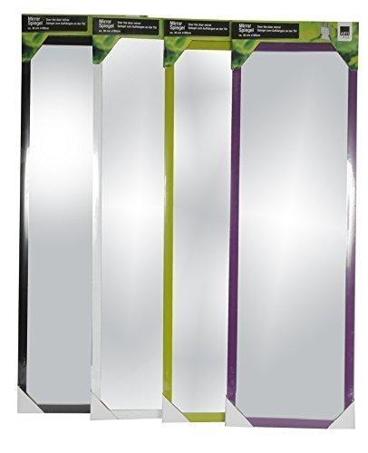 wand und tuer spiegel wandspiegel tuerspiegel haengespiegel rahmenspiegel garderobenspiegel lila - Wand- und Tür Spiegel Wandspiegel Türspiegel Hängespiegel Rahmenspiegel Garderobenspiegel (Lila)