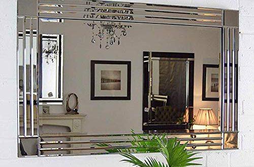 Cottonage Wandspiegel venezianisch abgeschraegt 100 x 70 cm silberfarben 500x330 - Cottonage Wandspiegel, venezianisch, abgeschrägt, 100 x 70 cm, silberfarben